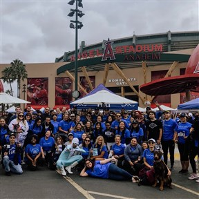 HIU was a sponsor for this year's walk, and as a team, they raised a program record amount of $4,529.00 and had 70 registered team members join them on walk day!